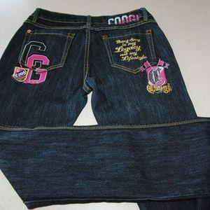 Coogi Brand Skinny Jeans 5/6 Dark Wash - Like New